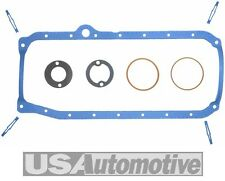 Fel-Pro Oil Pan Sump Gasket Set 1986-1993 GM V8 305CI 5.0L Chevrolet Small Block