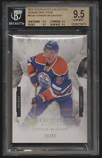 2015-16 UD Exquisite Connor McDavid Spectrum RC Rookie /97 BGS 9.5