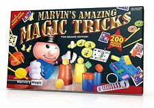 Marvin's Amazing Magic Tricks - Deluxe Special Edition Magic Set (200 Tricks)
