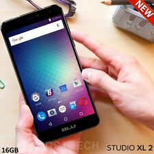 BLU Studio XL 2 LTE (16GB) 6.0 HD 4G 13MP Dual SIM Android UNLOCKED S0270U OPEN