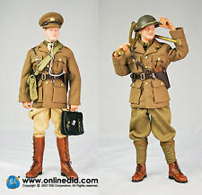 "DID 1/6 Scale 12"" WWII British Guards Officer B.E.F. 1940 John Colman Figure"