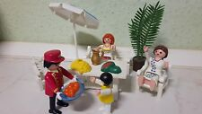 Playmobil Traumschloss Puppenhaus Terrassenmöbel mit Zubehör    3019 NR:87