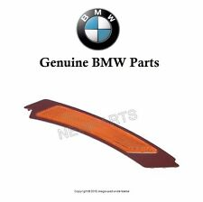 BMW 328i 335d 335i 2009-2012 OES Passenger Front Reflector Bumper Cover Yellow