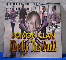 Poison Clan Fire Up This Funk! 5 track maxi single CD
