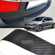 Carbon Rear Bumper Protector Decal Sticker for VOLKSWAGEN 2013 - 2016 Golf 7th