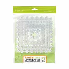 Tonic Studios Layering - Cutting Die Set -11 dies -Venetian Lace 1112e