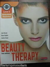 BEAUTY THERAPY CANDIDATE Level 3 NVQ/SVQ Diploma Handbook by Jane Hiscock FINE
