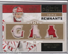2008-09 O-Pee-Chee Premier DOMINIK HASEK Triple Remnants Patch Jersey /35