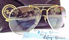 "RAY-BAN *NOS VINTAGE B&L AVIATOR ""PRECIOUS METALS"" TITANIUM/GOLD *NEW SUNGLASSES"