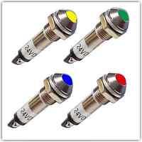 Kontrollleuchte Meldeleuchte Kontrollampe Signallampe rot, grün, gelb, blau (022