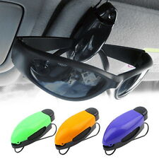 Car Vehicle Accessory Sun Visor Sunglasses Eye Glasses Card Pen Holder Clip H5