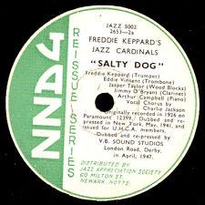 FREDDIE KEPPARD'S JAZZ CARDINALS Salty Dog/ Stock... (kein Schellack)78rpm X2918