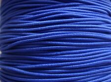 5m 1mm royal blue covered beading elastic cord ideal for wood & pony beads kids