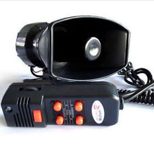 Loud Horn Siren 12V for Car/Auto Truck 5 Sounds Tone PA System 100W Max 300db