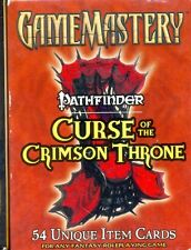 JDR RPG JEU DE ROLE / D&D GAME MASTERY ITEM CARDS : CURSE OF THE CRIMSON THRONE