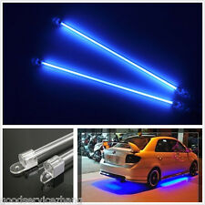 4xCar Motercycle BLUE Undercar Underbody Neon Kit Lights CCFL Cold Cathode Tube