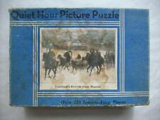 Napoleon's Retreat from Moscow jigsaw puzzle Quiet Hour #2212 Saalfield