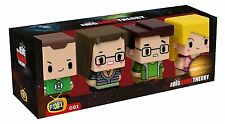 Big Bang Theory Pixel Figure Pack - Sheldon Green Lantern, Amy, Leonard, Penny