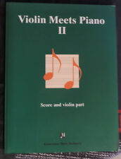 "Partition pour violon et piano, ""Violin meets Piano 2"""