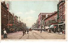 Early 1900's Main Street Downtown in Chattanooga, TN Tennessee PC