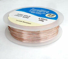 ROSE GOLD coloured COPPER WIRE 1mm 18 GAUGE  500grams - HIGH QUALITY 72meters