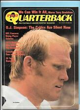Terry Bradshaw Pittsburgh Steelers Sept1973 Pro Quarterback Magazine