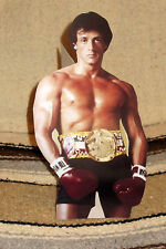 "Sylvester Stallone ""Rocky"" Balboa Movie Tabletop Display Standee 10"" Tall"