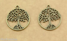 Wholesale 5Pcs trees of life copper Wholesale Necklace Accessories copper