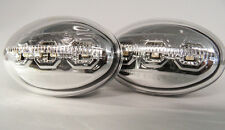 Chrome LED Side Repeaters Blinkers Ford Mondeo Mk1 93-96 Orion Mk3 90-94