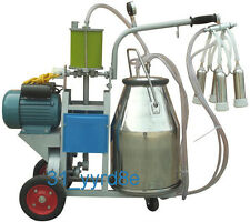 Electric Milking Machine For Cows or Sheep 110V/220V With 25L Bucket
