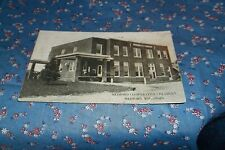 Old Postcard Medford Co-Operative Creamery Medford Wis Note Tear Creases Smudge