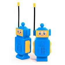 Robot Walkie Talkie Kids Electronic Toys Portable Two Way Radio Set (2-Pack)
