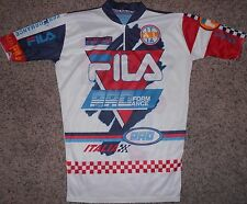 Fila Italia PROformance Cycling Jersey - Adult Large - Vintage 80s
