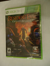 Resident Evil: Operation Raccoon City (Microsoft Xbox 360, 2012) NEW