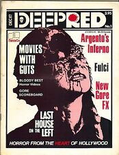 DEEP RED  HORROR MAGAZINE 12/97 #1  DARIO ARGENTO INFERNO FULCI NEW GORE FX