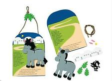 Legend of the Donkey Cross Christmas Craft - 1 kit Great Fun Gift or Ornament