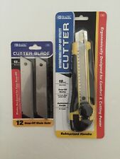 Retractable Snap-off Utility Box Cutter With 18mm Wide Blade Refills