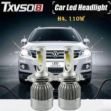 110W H4 HB2 9003 Bi-Xenon Hi/Lo Auto LED CREE Conversion Scheinwerfer Lampen Kit