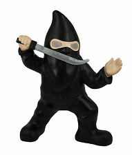 Ninja Garden Gnome Solar Powered Eyes Warrior Brand New Novelty Gift Samurai