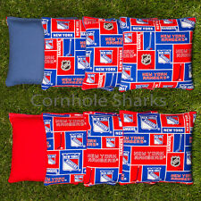 Cornhole Bean Bags Set of 8 ACA Regulation Bags New York Rangers Free Ship!!