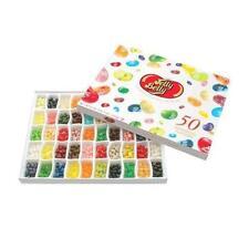 Jelly Belly 50-Flavor Sampler Gift Box net 21oz New
