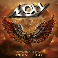 Moxy - 40 Years & Still Riding High 2 CD / 1 DVD numbered Canadian Hard Rock