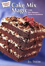 Cake Mix Magic by Jill Snider (2001, Paperback)