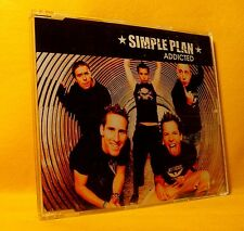 MAXI Single CD Simple Plan Addicted 2TR + Video 2003 Pop Rock