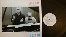 Carol Kidd --Nice Work--Linn Records AKH 006 Record NM