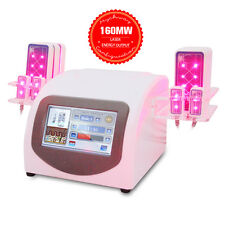 10 Pads Lipo Laser Weight Cellulite Loss Lipolaser 160mw Body Contour Liposuctio