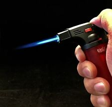 1 x Eagle Jet Torch Gun Adjustable Windproof  Flame Refillable , COLOR VARY