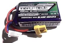 Turnigy Nano-tech 450mAh 3s 11.1v 65c LiPo - 40g for Brushless Micro Tiny Whoop