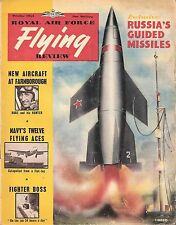 RAF FLYING REVIEW OCT 53 FACSIMILE: SEA DART/ 25/56 SQD METEORS/ SEA-HAWK FLIGHT