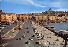 BR1021 France Marseille Le Quai des Belges cars voitures bus boats bateaux